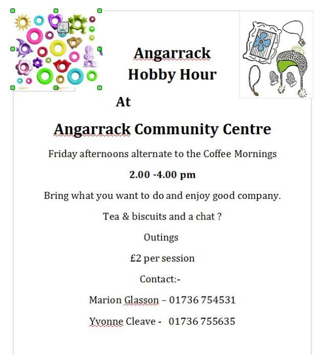 Hobby & Craft Afternoon   Angarrack Community Centre